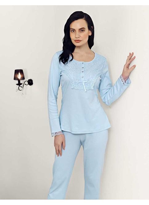 Şahinler Pijama Takım Mavi